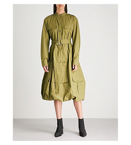 JW ANDERSON Multi-pocket cotton shirt dress (Bamboo