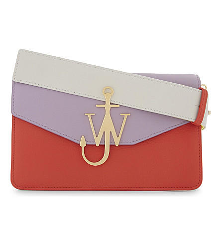 JW ANDERSON Colour block shoulder bag (Lilac
