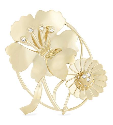 JW ANDERSON Crystal-embellished ear cuff (Gold