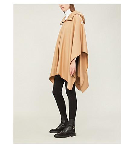 Mantella wool-blend cape(008730057522)