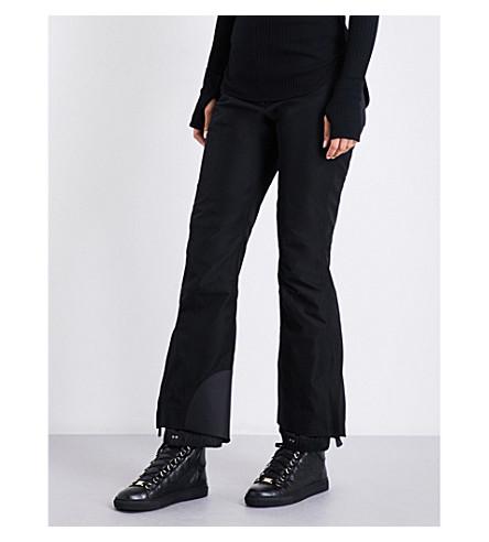 MONCLER Portivo flared shell ski trousers (Black