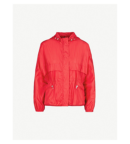 MONCLER Jais hooded shell jacket (Red