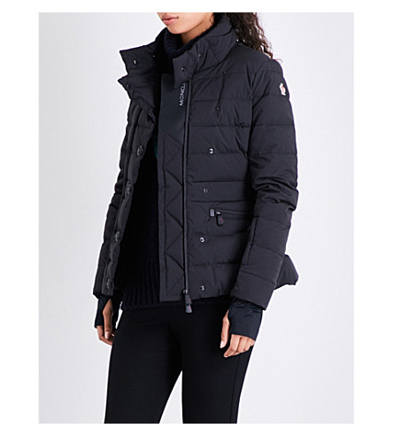 MONCLER Praloup quilted shell jacket (Black