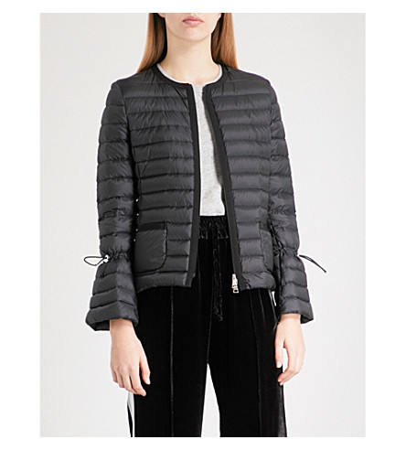 MONCLER Almandin quilted shell down jacket (Black