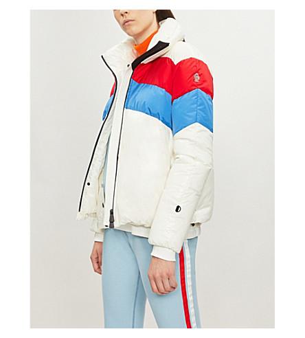 Lamar colour-blocked shell-down jacket(453468568950)