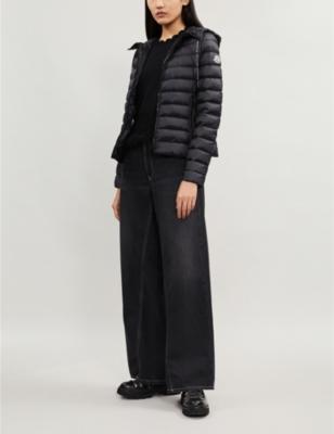 Seoul padded down-blend shell hooded jacket