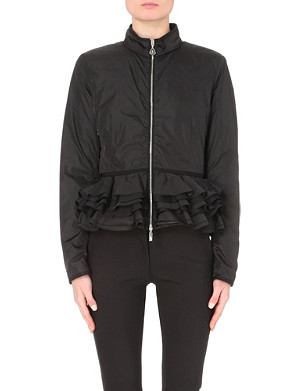 MONCLER Moreaux peplum quilted jacket