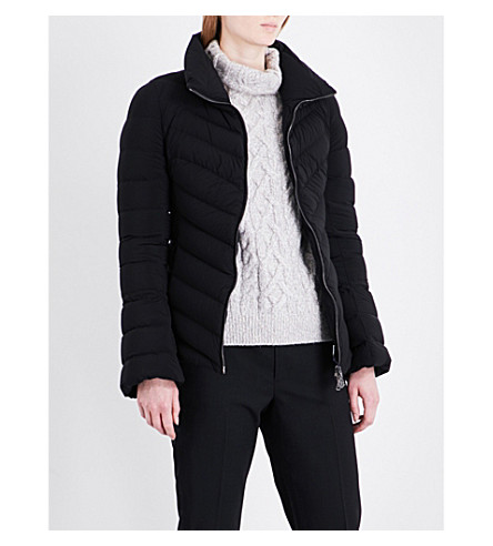 MONCLER Solanum shell down jacket (Black