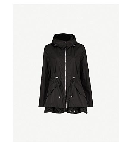 MONCLER Lotus hooded shell jacket (Black