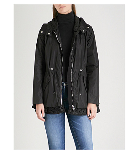 MONCLER Lotus hooded shell jacket (Black