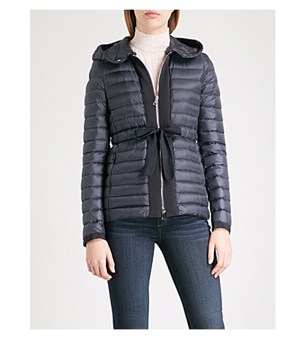 MONCLER Periclase quilted shell-down jacket (Navy