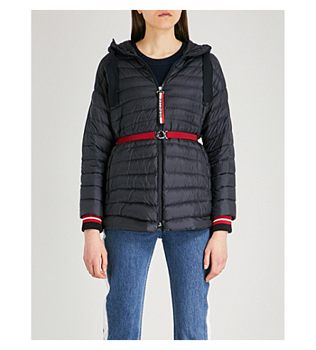 MONCLER Benitoite hooded shell-down jacket (Navy