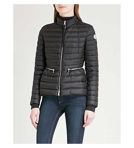 MONCLER Agate shell-down puffer jacket (Black