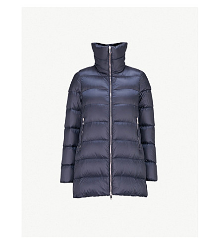 MONCLER Torcol quilted shell-down coat (Navy