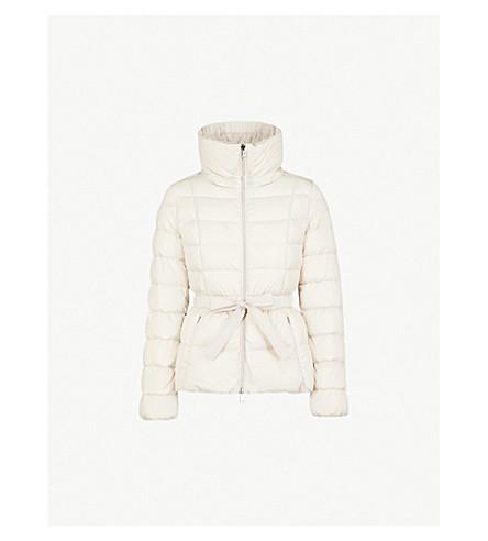 MONCLER Avocette shell-down coat (Beige