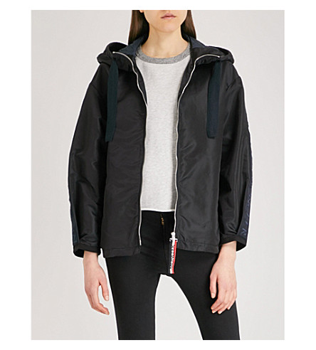 MONCLER Cordier hooded shell jacket (Navy