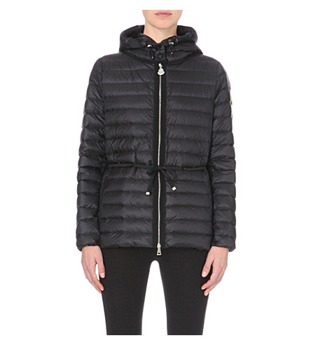 MONCLER Raie quilted jacket (Black