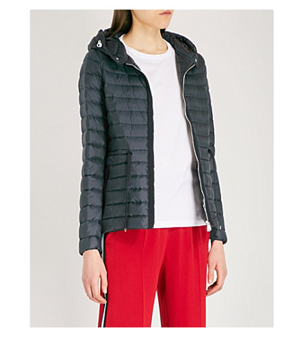 MONCLER Raie quilted coat (Navy