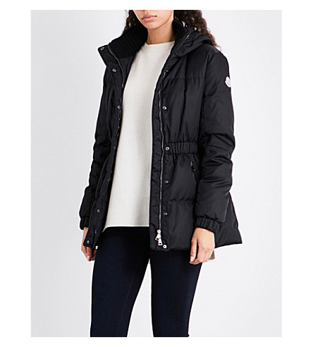 MONCLER Fatsia quilted shell jakcket (Black