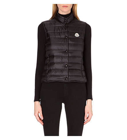 MONCLER Liane quilted gilet (Black