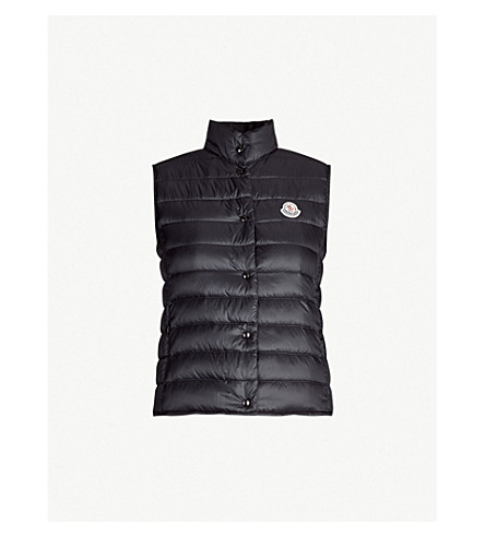 MONCLER Liane quilted gilet (Blk