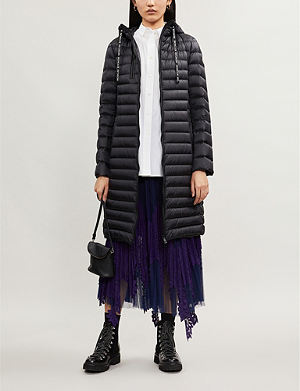 e6a576a6a MONCLER - Almandin quilted shell down jacket