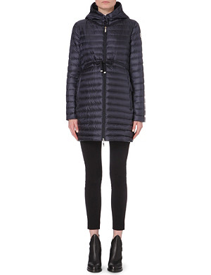 MONCLER Barbel quilted shell coat