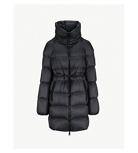 MONCLER Durbec shell-down coat (Black