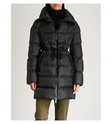 MONCLER Durbec shell-down coat (Black