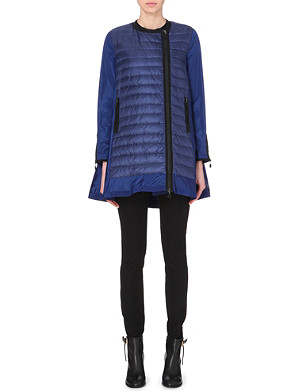 MONCLER Arielle cape-back quilted coat