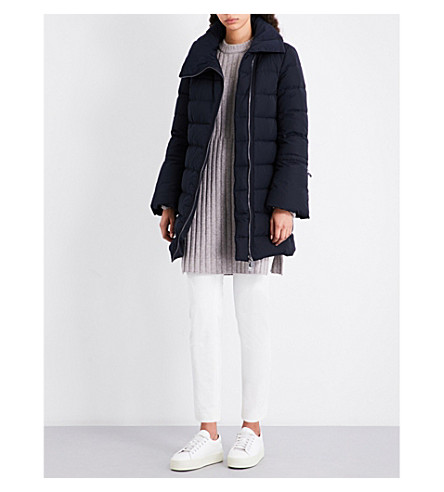MONCLER Lobelia quilted shell jacket (Navy