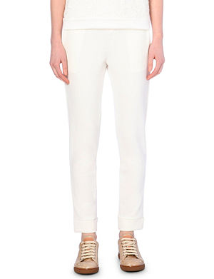 MONCLER Stretch-jersey jogging bottoms