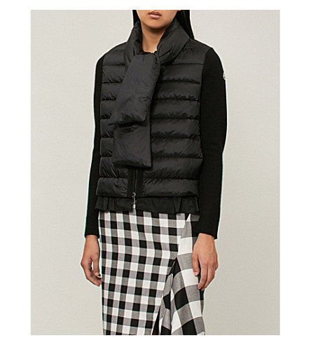 Scarf-tie shell-down jacket(9487600979BH)