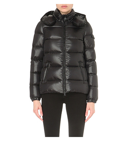 MONCLER Berre quilted shell jacket (Blk