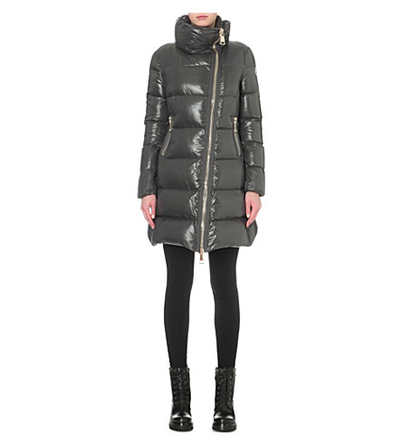 MONCLER Joinville quilted shell coat (Anthracite