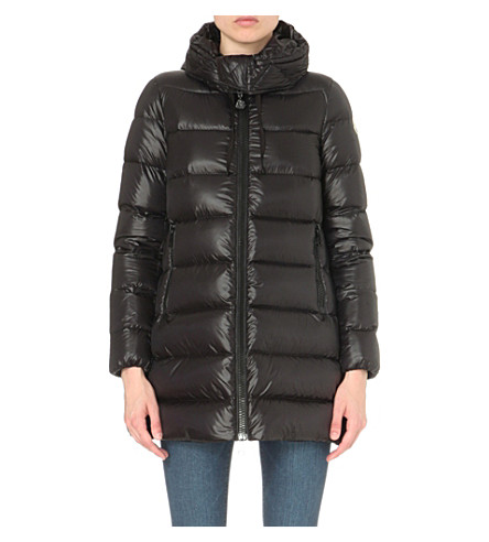 MONCLER Suyen quilted shell coat (Blk