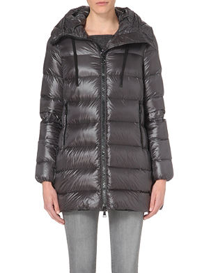 MONCLER Suyen A-line quilted coat
