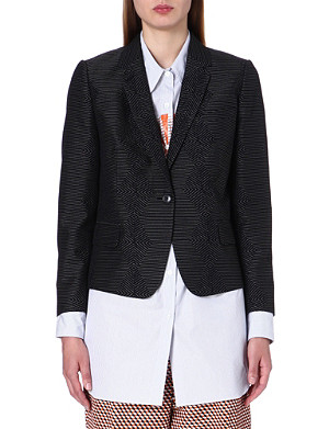 DRIES VAN NOTEN Bakula jacquard jacket