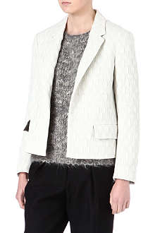 DRIES VAN NOTEN Textured jacquard blazer