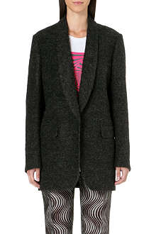 DRIES VAN NOTEN Mohair blazer