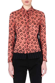 DRIES VAN NOTEN Leopard-print shirt