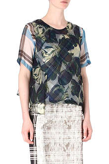 DRIES VAN NOTEN Calyn top