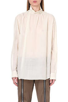 DRIES VAN NOTEN Carolyna high-neck blouse