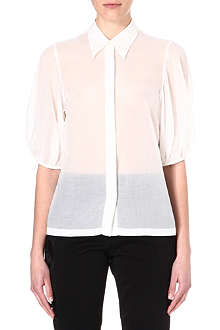 DRIES VAN NOTEN Puff-sleeved shirt