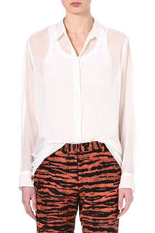 DRIES VAN NOTEN Cora voile shirt