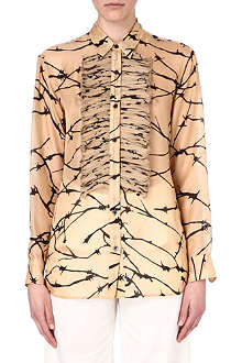 DRIES VAN NOTEN Cora printed silk shirt