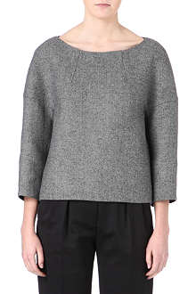 DRIES VAN NOTEN Structured wool top