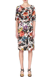 DRIES VAN NOTEN Dakhla floral-print dress