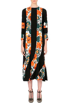 DRIES VAN NOTEN Damani panelled crepe dress