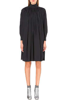 DRIES VAN NOTEN Daphine turtleneck cotton dress